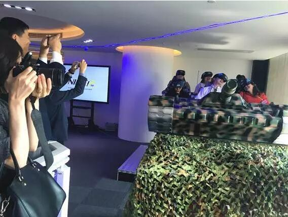 国务院新闻办组织蒙古国媒体交流团访问泷泽电子9DVR虚拟现实技术研发总部
