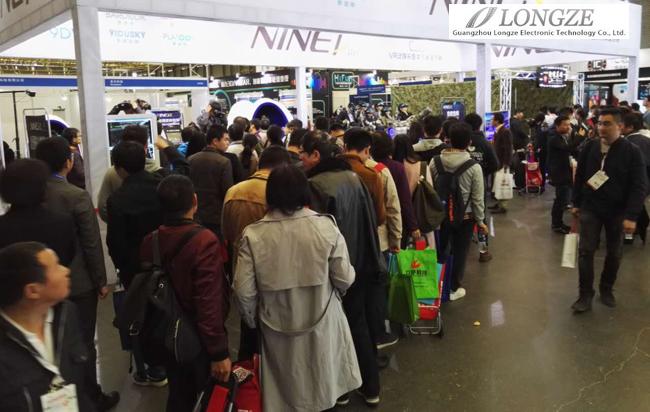 泷泽电子VR体验馆9D影院等设备成第88届中国电子展最热门产品