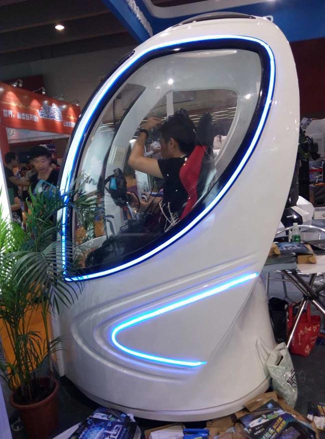 泷泽9D影院虚拟现实体验馆设备作为VR行业代表参加惠州云博会