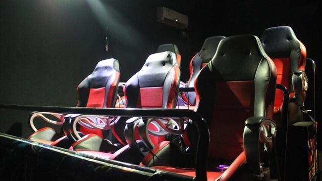 全球首个6人/9人虚拟现实9DVR影院特效设备