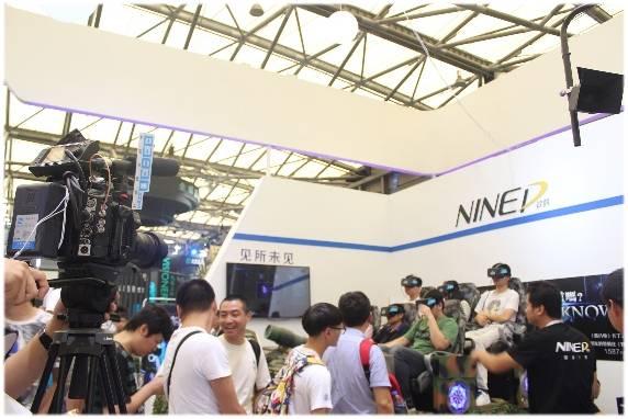 泷泽全球首个9DVR影院虚拟现实特效设备